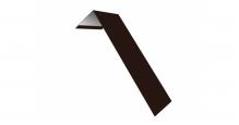 Металлические доборные элементы для фасада в Ростове-на-Дону Планка лобовая/околооконная простая 190х50
